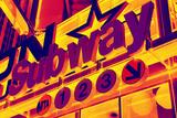 Subway Stations - Pop Art - New York City - United States