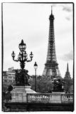 Romantique Eiffel - Paris  Papier Photo par Philippe Hugonnard