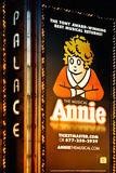 Advertising - Annie the musical - Times square - Manhattan - New York City - United States