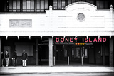 Subway Station  Coney Island Reproduction d'art par Philippe Hugonnard