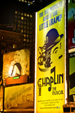 Advertising - Chaplin the musical - Times square - Manhattan - New York City - United States