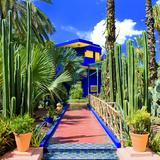 Jardin Majorelle - Marrakech - Morocco - North Africa - Africa