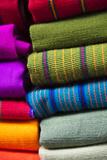 Local Outdoor Market Textiles  Chichicastenango  Guatemala