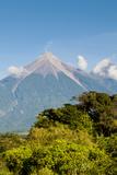 Fuego Volcano Outside Antigua  Guatemala