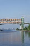 Burlington Canal at Hamilton  Lift Bridge on Lake Ontario  Toronto  Ontario  Canada