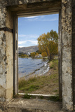 Old Building  Lake Dunstan  Cromwell  Central Otago  South Island  New Zealand