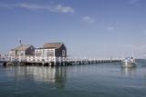 Straight Wharf Water Taxi  Nantucket  Massachusetts  USA