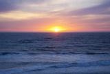 Sunset at the Ocean  Gleneden Beach State Wayside  Oregon  USA
