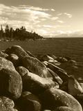 View of Lake Tahoe  Lake Tahoe Nevada State Park  Nevada  USA