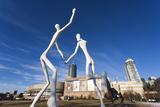 Center for Performing Arts  Sculpture by Jonathan Borofsky  Denver  Colorado  USA