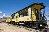 Steam Train Engine  Gold Hill Train Station  Virginia City  Nevada  USA