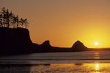 Sunset Beach State Park  Astoria  Oregon  USA