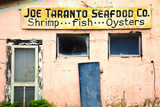 Deserted Old Oyster House  Apalachicola  Florida  USA