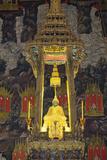 Royal Monastery of Emerald Buddha  Grand Palace  Wat Phra Keo  Bangkok  Thailand