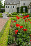George Eastman House  Museum  Garden  Rochester  New York  USA