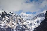 Telluride  Ajax Peak  Mountains  Colorado  USA
