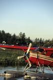 Float Plane  Anchorage  Alaska  USA