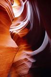 Light Reflections and Swirls in Secret Canyon  Page  Arizona  USA