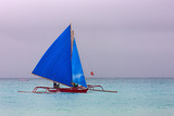 Sailing in the Ocean  Boracay Island  Aklan Province  Philippines