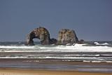 Rockaway Beach  Twin Rocks  Oregon  USA