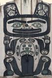 Tlingit Tribal House  Wrangell  Alaska  USA