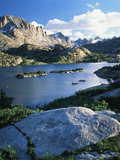 Bridger Wilderness with Island Lake  Wyoming  USA