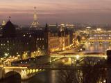 Les ponts de Paris Reproduction d'art
