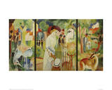 Zoological Garden Triptych