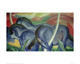 Large Blue Horses  1911