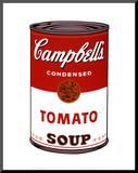Soupe Campbell's I - Tomate, 1968 Reproduction montée par Andy Warhol
