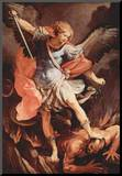 Guido Reni (Archangel Michael) Art Poster Print