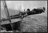 Sailing in Chichester Harbor England 1957 Archival Photo Poster