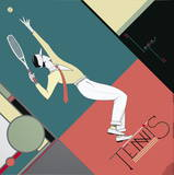 Tennis Reproduction pour collectionneurs par Lepas