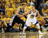 Oakland  CA - May 16: Stephen Curry and Danny Green