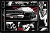 Death Ride 68 Tableau sur toile par Marco Almera
