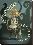 Miss Wonderland Tableau sur toile par Diana Levin