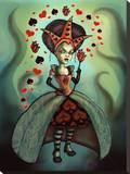 Levin Queen of Hearts Tableau sur toile par Diana Levin