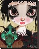 Fairies & Dragons No. 2 Tableau sur toile par Dottie Gleason
