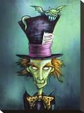 Mad Hatter Tableau sur toile par Diana Levin