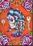 Mildred Tableau sur toile par Dave Sanchez