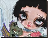 Fairies & Dragons No. 3 Tableau sur toile par Dottie Gleason