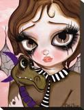 Fairies & Dragons No. 1 Tableau sur toile par Dottie Gleason