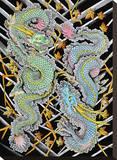 Ascending & Descending Dragons Tableau sur toile par Clark North