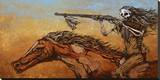 On the Warpath Tableau sur toile par David Lozeau