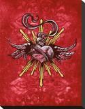 My Sacred Heart Tableau sur toile par David Lozeau