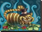 Cheshire Tableau sur toile par Diana Levin