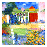 Netty Lives in Karlsruhe Giclée premium par Mike Smith