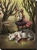 Le petit chaperon rouge Tableau sur toile par Diana Levin