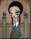 Wednesday Child Tableau sur toile par Dottie Gleason