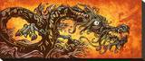 River Dragon Tableau sur toile par David Lozeau